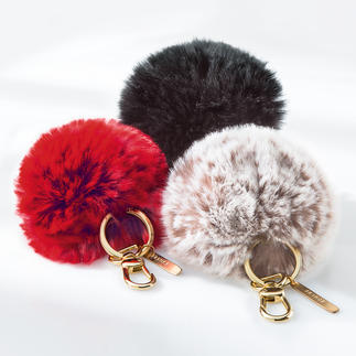 Faux Fur Key Ring A very practical gift that will keep the recipient thinking of you.