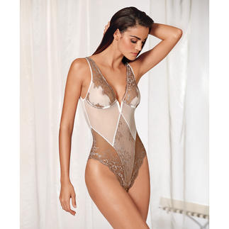 "Exilia ""Primavera"" Lace Body Sexy and stylish at the same time: The luxurious body made of French lace."