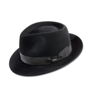Mayser Ladies Fedora Hat The latest extravaganza: Masculine hats. Preferably from Mayser, expert German millinery since 1800.