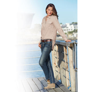 Aigle Fashion Functional Blouse Dry-fast® fabric with UV protection: Light, airy and quick to dry.