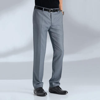 MMX Summer Tasmania® Trousers Ultra-fine Summer Tasmania® wool-and-silk blend – by the world record holders for fine wool.