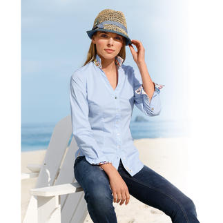 Lucky de Luca Blouse Fresh and feminine: A Lucky de Luca revamp of the classic Oxford blouse.