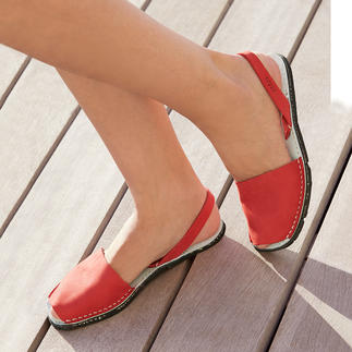 Avarcas de Menorca The traditional Menorca sandal: Handmade. Ideal for even