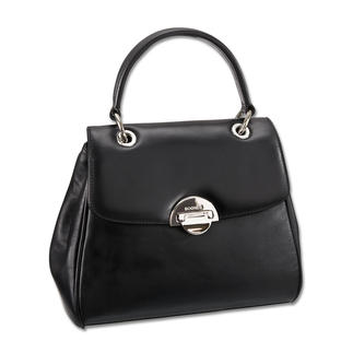 Bogner Smooth Leather Handle Bag 20 years of Bogner Leather. The anniversary bag is a classic yet trendier than ever.