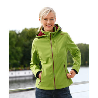 Softshell Jacket Slim cut, lightweight, yet warm.