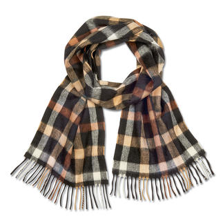 DAKS Check Scarf Not just any check. The DAKS House Check.