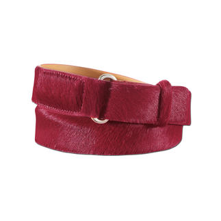Belts Cowhide Belt Subdued, yet striking: Basic belt in Tuscan cowhide. For casual and elegant business looks.