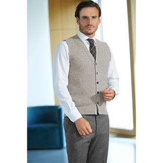 Peter Scott Knitted Waistcoat The art of traditional knitting meets contemporary design.