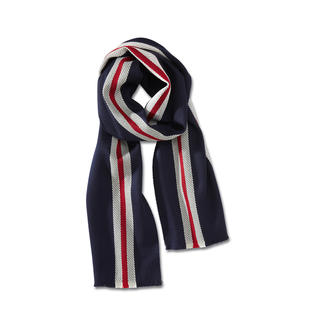 Regimental Scarf The smart warm winter scarf. Authentic regimental stripes. Pure wool. Made in Great Britain. By Smart Turnout.