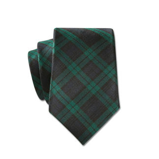 LACO Black Watch Tie A rare combination: Classic Scottish Black Watch tartan and exquisite Como silk.