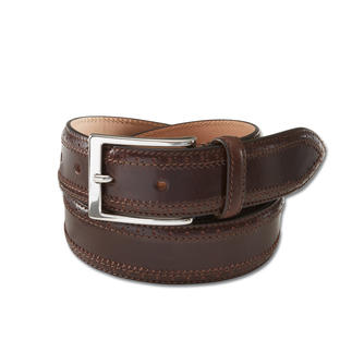 Belts Full-Brogue Belt An elegant touch for proper business and casual outfits.