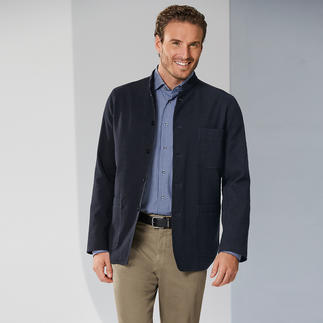 Hollington Wool Seersucker Sports Jacket The perfect combination: Warm wool blend with an airy seersucker effect.