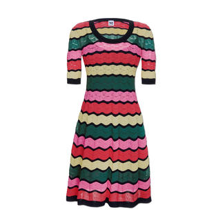 M Missoni Wave Knit Dress Perfectly fashioned, airy, lightweight knitted dress.