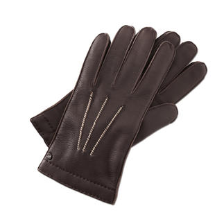 Merola Buckskin Gloves Handmade luxury gloves from Italy.