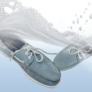 Sperry Washable Boat Shoe Authentic original boat shoes – now more hygienic.