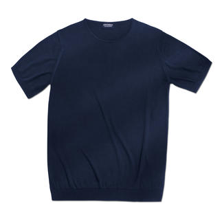 John Smedley 30 gauge T-shirt A knitted version of the classic, basic top simple to combine – yet difficult to find.
