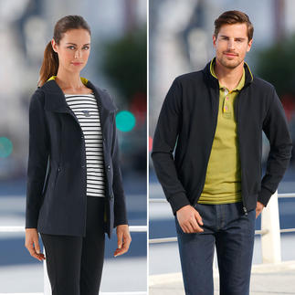 "Women's or Men's ""Holistic Technology"" functional jacket Ultra-light, totally functional and very elegant.