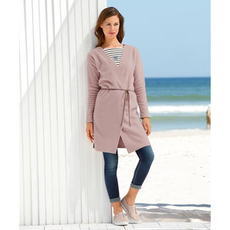 Henriette Steffensen Fleece Coat Elegant fleece fashion. 