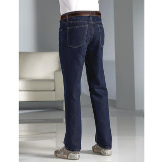 Hiltl Silk Jeans Enhanced with silk: The summery light luxury jeans.