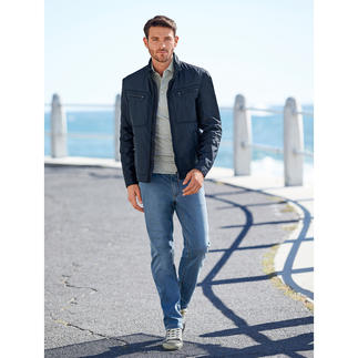 "Geox Men's Functional Blouson ""Breathing System"" In a smart, Italian, slim cut design."