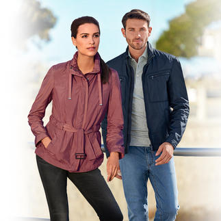 "Geox Women's or Men's Functional Jacket ""Breathing System"" In a smart, Italian, slim cut design. For men and women."