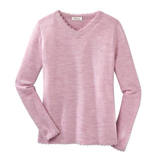 Alpaca Travel Pullover, women Your most important travelling companion. A pullover weighing only 7oz.