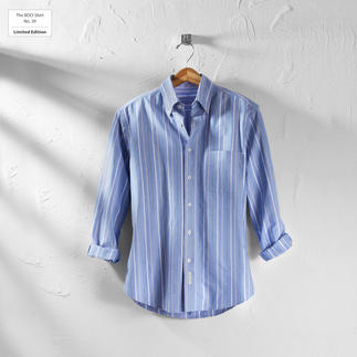 The BDO-Shirt No. 39, striped Meet a good old friend. And forget that shirts always need ironing.
