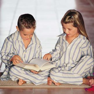 Derek's Children's Pyjamas A lot of children adore striped pyjamas. Here is the original by Derek Rose, London.