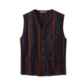 Hollington Striped Waistcoat The genuine Patric Hollington waistcoat. Indestructible design.