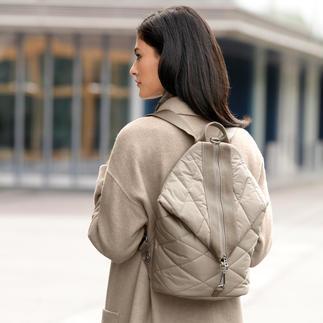 Bogner Nylon Rucksack The elegant exception among casual nylon rucksacks.