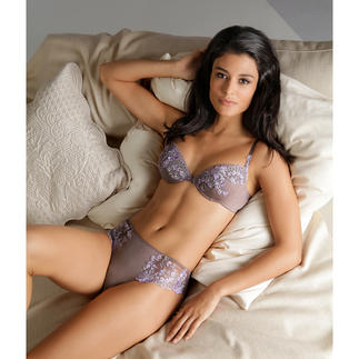 Exilia Modal Lace Bra or Briefs Seductively beautiful, incomparably soft and particularly skin-friendly.