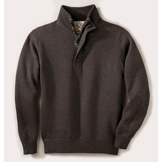 Alan Paine Teflon® Outdoor Pullover Pure merino wool, water repellent thanks to long-lasting Teflon® protection.