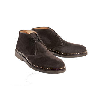 Heschung Chukka Boots From slush in the country to the carpet in first-class.