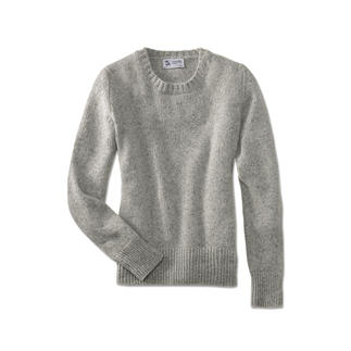 Johnstons 4-ply Cashmere/Tweed Men's or Women's Pullover So special, so soft: Soft Donegal tweed pullover made from 100% finest 4-ply cashmere.