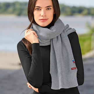meinfrollein® Basic Merino Scarf Available in 3 colours. For men and women. Made in Germany – by meinfrollein®.