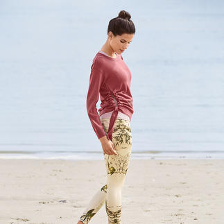 Mandala Top, Knitted Sweater or 7/8 Leggings Comfortable enough for yoga, tai chi and the sofa. Chic enough for the fanciest spas and studios.