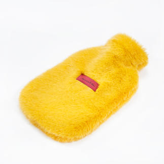 Unechta Hot Water Bottle Covered in luxury faux fur by Düsseldorf fashion label Unechta.