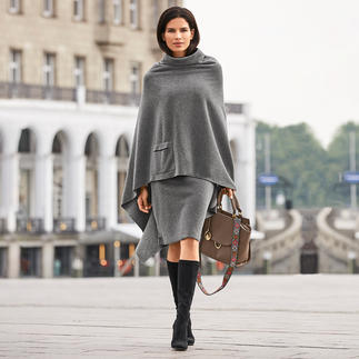 Henriette Steffensen Fleece Poncho or Skirt This is how feminine fleece can be. Poncho and skirt by Henriette Steffensen. Scandinavian design.