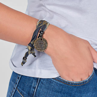 """Hakuna Matata Bracelet """"Everything is okay"""": Special fashion accessory made of South African """"sun fabric""""."""