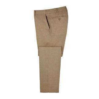 Seidra Linen Trousers Seidra in Austria weaves airy linen that's even suitable for formal business trousers.
