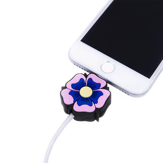LED-Motif Charging Cable, Flower Power The perfect present for all Apple fans: The motif charging cable with light effect.