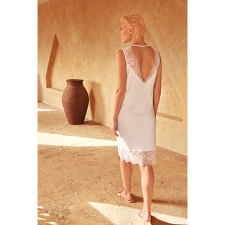 Hanro Sea Island Nightdress Only rare Sea Island cotton is soft enough for your finest nightdress. By Hanro.