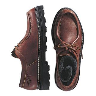 Elk Leather Shoes Each shoe is unique.