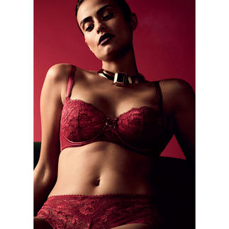 Aubade Push-up Bra or Brief Rouge Amour Aube Amoureuse by Aubade: Parisian lingerie for everyday wear.