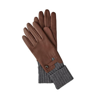 Roeckl Long Cuff Gloves Premium protection from the cold: Chic leather gloves with long cuff. By Roeckl.