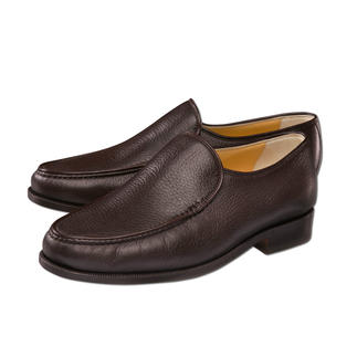 Deerskin Slip-Ons Comfortable Italian slip-ons in high quality deerskin.