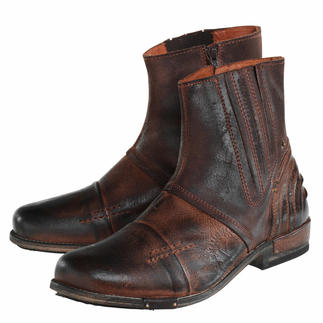 Yellow Cab Buffalo Leather Boots Rustic and indestructible. And yet beautifully soft and merely 19 oz. By Yellow Cab, New York.
