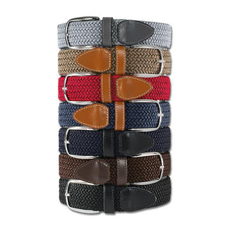 Belts' Elasticated Belt, Men Infinitely adjustable and elastic.