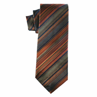 Silk Tie Indian Summer Stylish in the colours of Indian Summer.