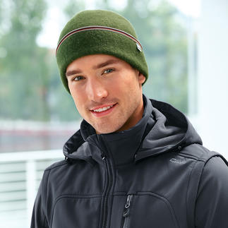 The Cap Hat The hat in soft, felted virgin wooll adapts perfectly and doesn't scratch. For men and women.